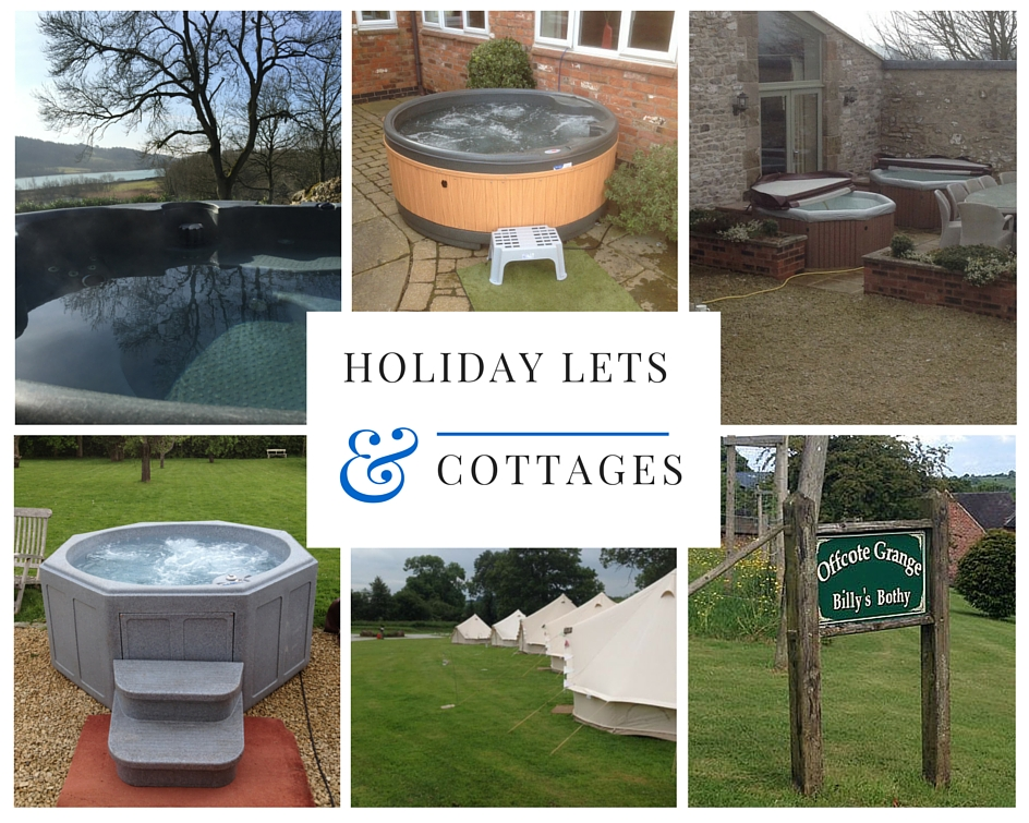 hot tub hire for holiday cottages and holiday lets