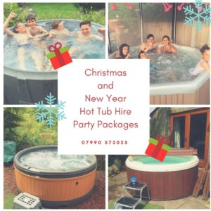 Hot Tub Hire Nottingham Christmas