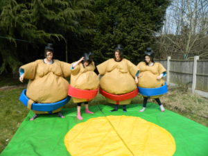 sumo suit hire derby nottingham leicester